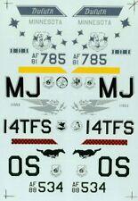 F-16 C/ADF FALCONS & F-16 C NIGHT FALCONS DECAL SUPER SCALE INTERNATIONAL 32-107