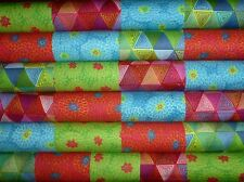 25 Broderie Boheme Collection Mixed Prints quilting fabric 5 inch squares #50m