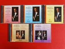 5 CDs: Johannes Brahms * Alain Lombard * Vol. 1 - 5 * Z: sehr gut * gebraucht