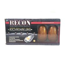 Recon 264146BK Smoked Lens Cab Roof Replacement LED Lights for Ram 2500/3500