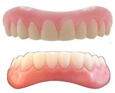Instant Smile Teeth LARGE top & BOTTOM SET w 4 PKG EX BEADS Veneers Fake  Photo