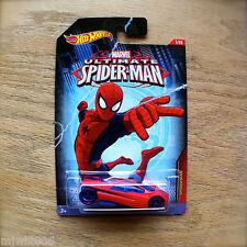 Hot Wheels ULTIMATE SPIDER-MAN as SLINGSHOT Marvel 1/10 Mattel New diecast