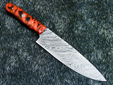 """12"""" Kitchen Chef Knife """"Handcrafted Damascus Steel Blade"""" Multi Purpose WD-5766"""
