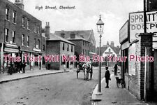 HF 140 - High Street, Cheshunt, Hertfordshire c1908 - 6x4 Photo