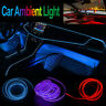 2m Car Interior Decoration Atmosphere Ambient Light Cold LED Lamp Strip Wire