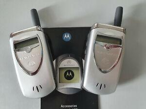 2x Motorola V60i MAYBACH Mercedes Benz Edition Rarität Selten Sammlungsauflösung