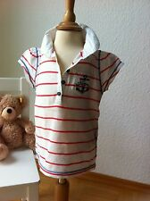 Tommy Hilfiger! super schickes maritimes Polo Shirt TOP! Gr. 18 Monate