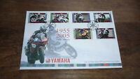 2005 ISLE OF MAN YAMAHA MOTORCYCLE RACING GREATS 50th ANNIV FDC