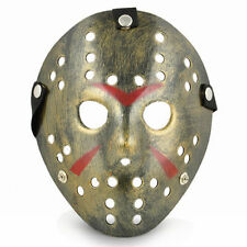 Jason Voorhees Gold Mask - Use It For Dress Up - Halloween - Cosplay - Gold Mask