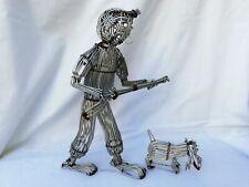1X Crochets De Fil De Fer Noir Mat De 10 Pieces - Crochets De Fer Larges Et R3K1