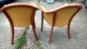 Pair Parker Knoll Club Chairs