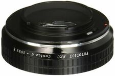 Fotodiox Pro Lens Mount Adapter - Contax G SLR Lens to Sony Alpha E-Mount Mir...
