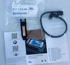 BMW OEM iPhone Lightning Type I Universal Snap-In Adapter For Snap-In Adapter