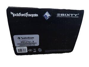 Rockford Fosgate 3SIXTY.3 Digital Signal Processor 8-Ch inputs/outputs w/ EQ DSP