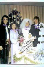 ELVIS PRESLEY PRISCILLA AT SONNY WEST WEDDING MEMPHIS 12/28/72 PHOTO CANDID