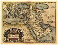 Turkey Ottoman Empire Anatolia Asia Minor map Abraham Ortelius ca.1570