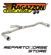 RAGAZZON SCARICO TERMINALE SDOPPIATO VW GOLF VI 2.0 GTI TSI 155kW 2009►