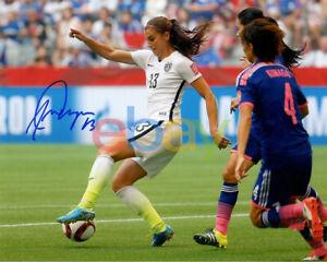 Alex Morgan Team USA Soccer Signed 8x10 Autographed Photo reprint