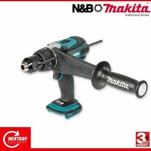 Makita DHP458Z 18V LXT 2 Speed Combi Drill Naked Body Only ex BHP458Z
