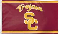 NCAA Licensed USC Trojans 3' x 5' FLAG w/Grommets Banner New