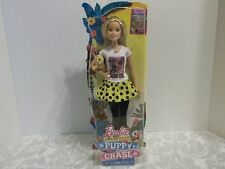 BARBIE & HER SISTER IN A PUPPY CHASE~WITH DOGS~NEW IN BOX