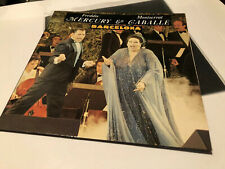 "Queen Freddie Mercury Barcelona 1987 Gatefold Limited 7""ps"