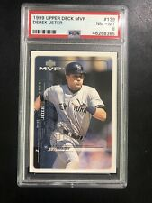 DEREK JETER PSA Yankees HOF -1999 Upper Deck PSA8