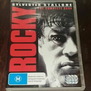 Rocky ( Sylvester Stallone )  - The Complete Saga - 6 Movies Set - DVD