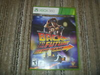 Back To The Future The Game (2099) Microsoft XBox 360 Complete Game Mint