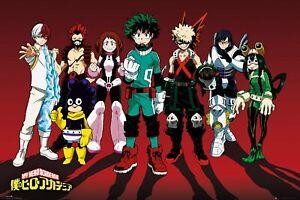 Poster My Hero Academia Line Up