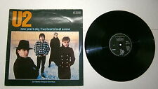 """U2 #33 Giri # 12"""" -NEW YEAR'S DAY#TWO HEARTS BEAT AS ONE-Island Records 814948-1"""