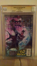 Batman: The Dark Knight #20 (Mad Hatter) CGC 9.8 AUTOGRAPHED by ETHAN VAN SCIVER
