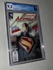 Action Comics #9 CGC 9.2