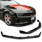 Made For 2010-2013 Chevy Camaro Ss V8 Only Stl Style Usdm Front Bumper Lip - Pu