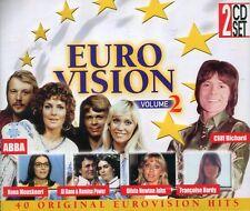 Eurovision volume 2 : 40 Original Eurovision Hits (2CD)