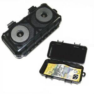 LARGE MAGNETIC CAR VAN BIKE STASH SAFE HIDDEN STORAGE COMPARTMENT SECRET BOX UK