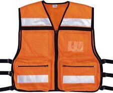Safety Orange High Visibility EMS Oxford Tactical Rescue Vest