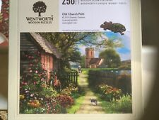 Complete 250 Pieces Wentworth Jigsaw - Old Church Path