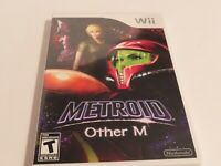 Metroid Other M Nintendo Wii! COMPLETE IN BOX!
