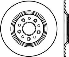 Disc Brake Rotor-SE Rear Left Stoptech 128.61081L