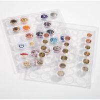 Feuilles ENCAP pour 10 séries de monnaies de la 1 cent à la 2 euros - LEUCHTTURM