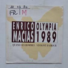 ENRICO MACIAS Olympia 199 Quand les hommes vivront d amour 210290 PROMO