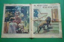 IL MATTINO ILLUSTRATO 1937 S.A.R. MARIA DI PIEMONTE MARIA PIA  VITTORIO EMANUELE