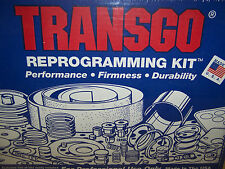 TransGo A500 A518 A618 Reprogramming Kit TFOD-3 1988-03 Full Manual Stick Shift