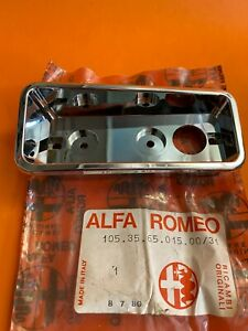Alfa Romeo Spider RIGHT  FRONT ALTISSIMO SIDE LIGHT CHROME BEZEL