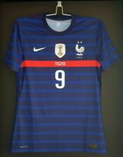 maillot porte porté GIROUD FRANCE match worn shirt