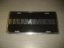 Hummer matrícula logotipo badge emblema gm gmc license plate OEM escudo h1 h2 h3