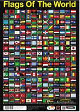 Flags of the World Educational Geography Resource Sumbox Poster 0212