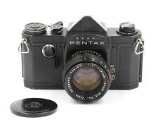 "Asahi Pentax ""AP"" Black 35mm SLR Camera w/ 58mm f/2 Takumar Lens"