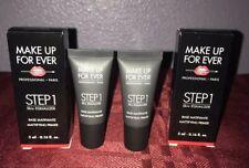 2X Make Up For Ever Skin Equalizer Smoothing Primer Step 1 Mini 0.16 oz Each